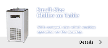Small-Size Chiller on Table